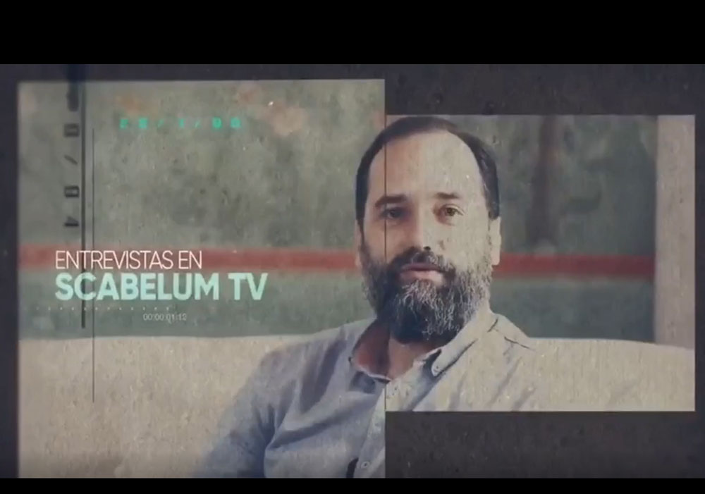 Scabelum TV Interview Titel Image